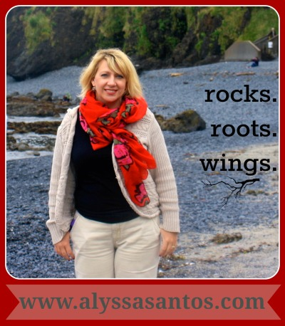 Alyssa Santos - rocks.roots.wings.