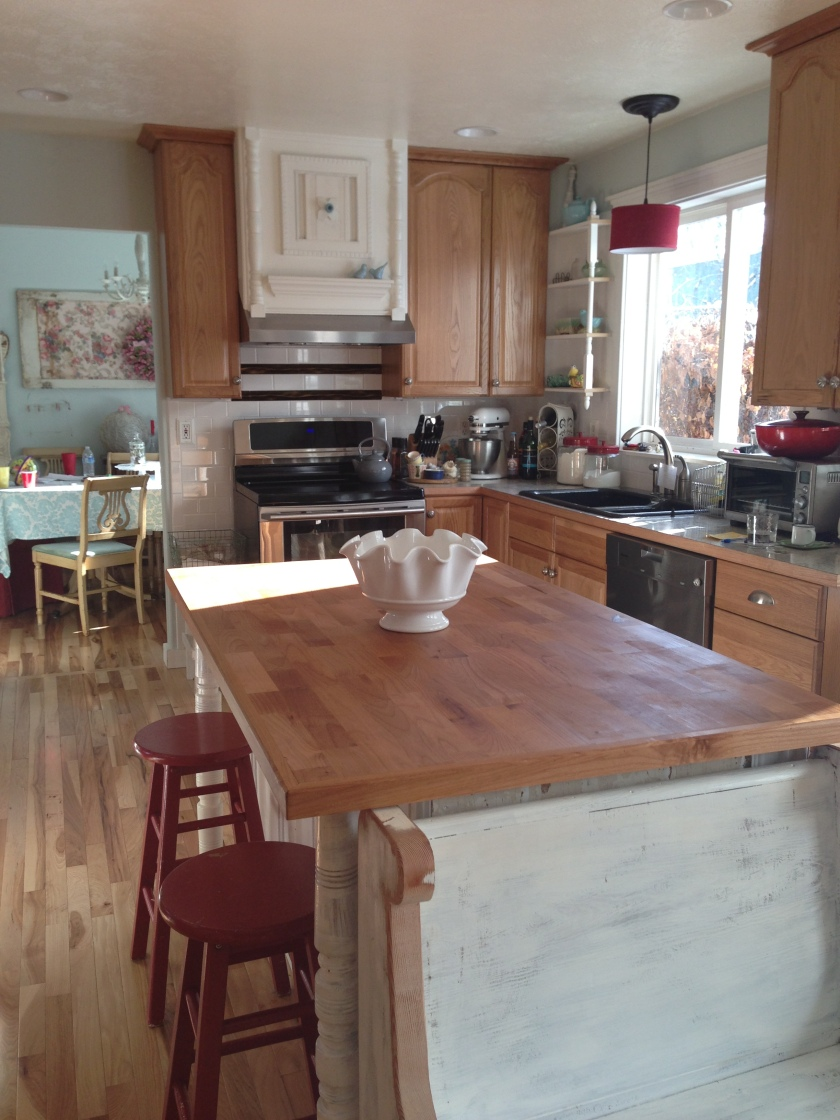 ...the new kitchen...
